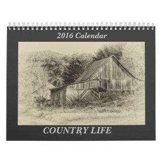 Calendario del país 2016 de Carolina