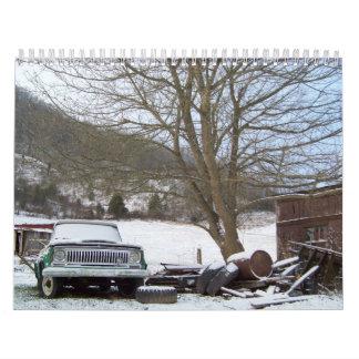 Calendario del país y de la naturaleza