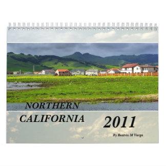 Calendario del paisaje 2011 de California