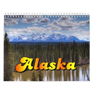 Calendario del paisaje de Alaska