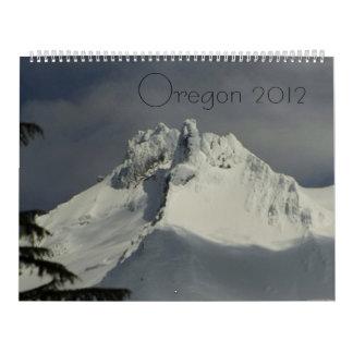 Calendario del paisaje de Oregon