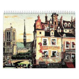 Calendario del paisaje urbano.