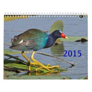Calendario del pájaro de 2015 norteamericanos