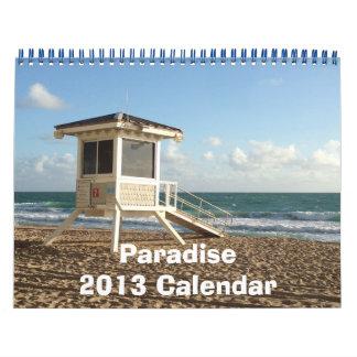 Calendario del paraíso 2013