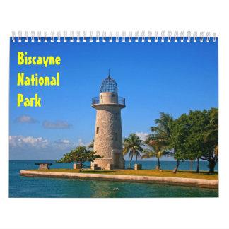 Calendario del parque nacional 2016 de Biscayne