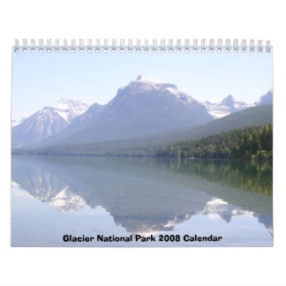 Calendario del Parque Nacional Glacier 2008