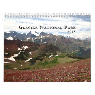 Calendario del Parque Nacional Glacier 2015