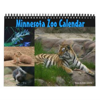 Calendario del parque zoológico de Minnesota