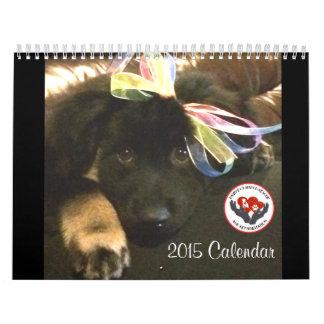 Calendario del partido 2015 de Pawfect