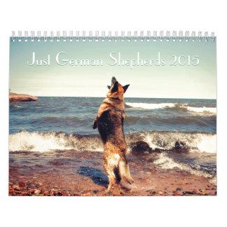 Calendario del pastor alemán 2015