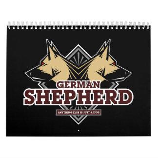 Calendario del pastor (GSD) alemán