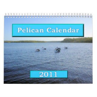 Calendario del pelícano calendario de 2011 - 12