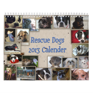 Calendario del perro del rescate de Óscar