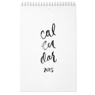 Calendario del personalizado 2015