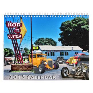 Calendario del personalizado 2015 de Rod&
