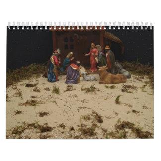 Calendario del pesebre 2012 de Cristo