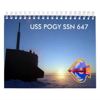 Calendario del Pogy de USS (a)