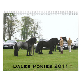 Calendario del potro 2011 de los valles