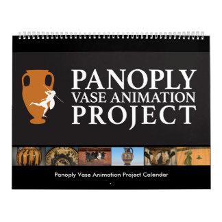 Calendario del proyecto de la animación del