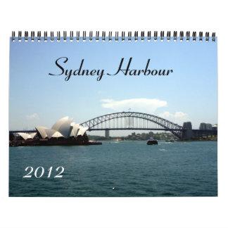 calendario del puerto 2012 de Sydney
