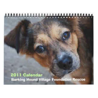 Calendario del rescate 2011 de BHVF