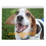 Calendario del rescate 2015 del beagle de Atlanta