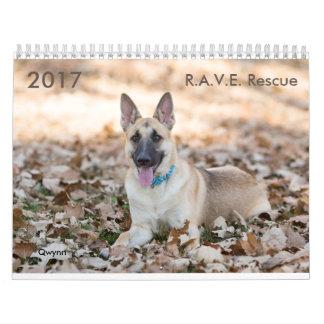 Calendario del rescate de 2017 R.A.V.E.