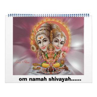 calendario del shiva del señor