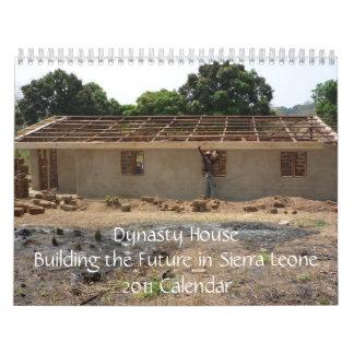 Calendario del Sierra Leone de la construcción de