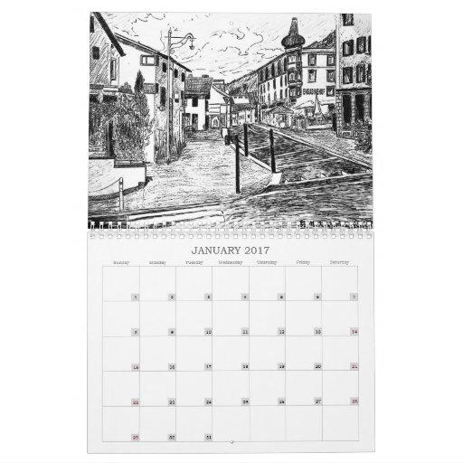 Calendario del suizo del país