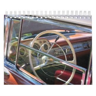 Calendario del tablero de instrumentos del coche