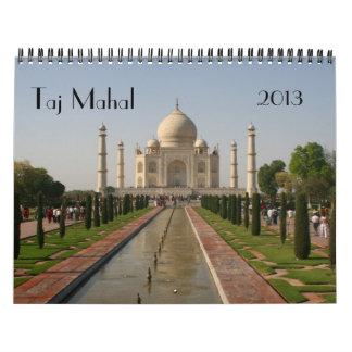 calendario del Taj Mahal 2013
