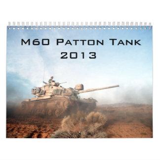 Calendario del tanque de Patton