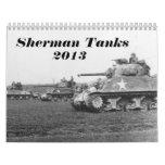 Calendario del tanque de Sherman