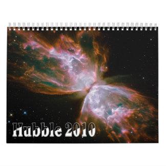 Calendario del telescopio espacial 2010 de Hubble