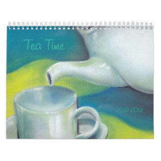 Calendario del tiempo del té