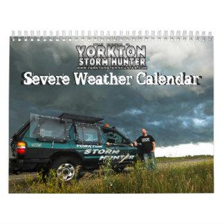 Calendario del tiempo severo