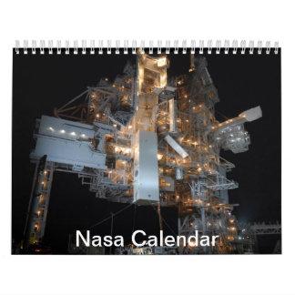 Calendario del tributo de la NASA