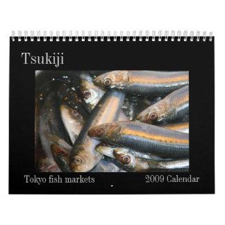 calendario del tsukiji 2009