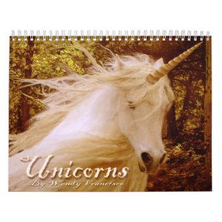 Calendario del unicornio