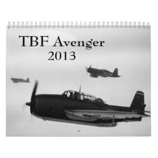 Calendario del vengador de TBF