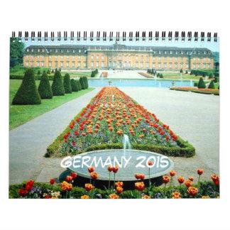 Calendario del viaje de Alemania 2015