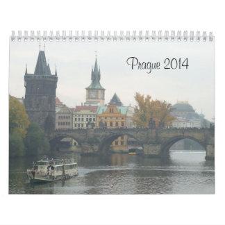 Calendario del viaje de Praga 2014