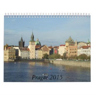 Calendario del viaje de Praga 2015