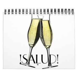 calendario del vino del día de fiesta