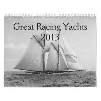 Calendario del yate