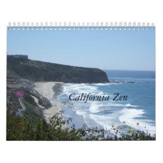 Calendario del zen 2012 de California