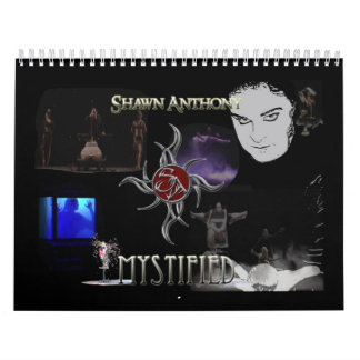 Calendario desconcertado Anthony de Shawn