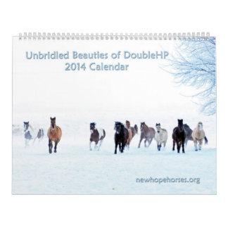 Calendario desenfrenado de las bellezas 2014