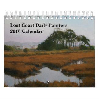 Calendario diario de los pintores 2010 de la